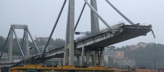 demolizione ponte morandi