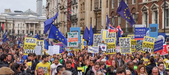 brexit manifestazione londra