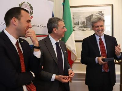 Ambasciata italiana a Oslo è #plasticfree