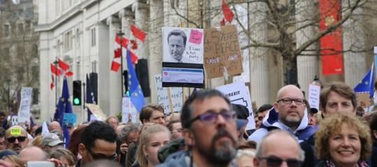 brexitmanifestazione londra