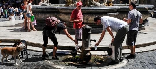 acqua siccita italia