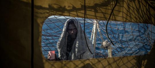 Migranti Mare Jonio lampedusa