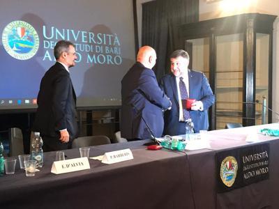 Lavoro: Rasizza (Openjobmetis) premiato da Università 'A.Moro' di Bari