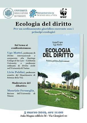 Ecologia del diritto_WWF Friuli 2019