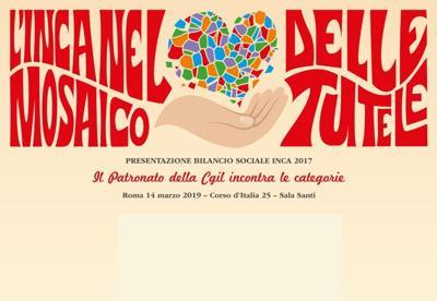 Inca presenta Bilancio sociale: 3 mln di pratiche nel 2017
