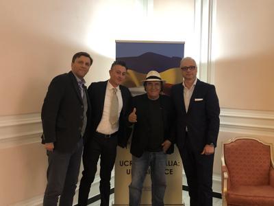 Ambasciata Ucraina, insieme ad Al Bano vogliamo rafforzare rapporti con Italia