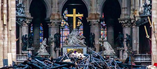 croce reliquie incendio notre dame