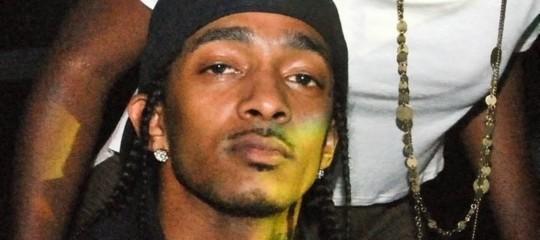ucciso rapper Nipsey Huslle