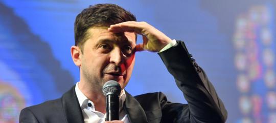 ucraina presidente comico
