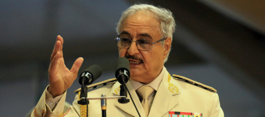 Libia Haftar ordina avanzata su Tripoli