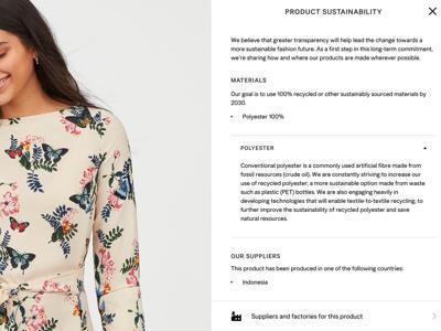 Moda consapevole, su H&M trasparenza dei prodotti su larga scala