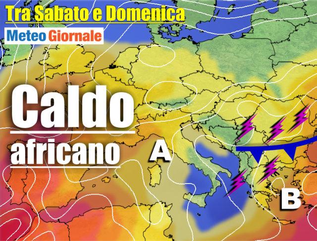 immagine 1 articolo meteo 7 giorni dai temporali a estate nel weekend