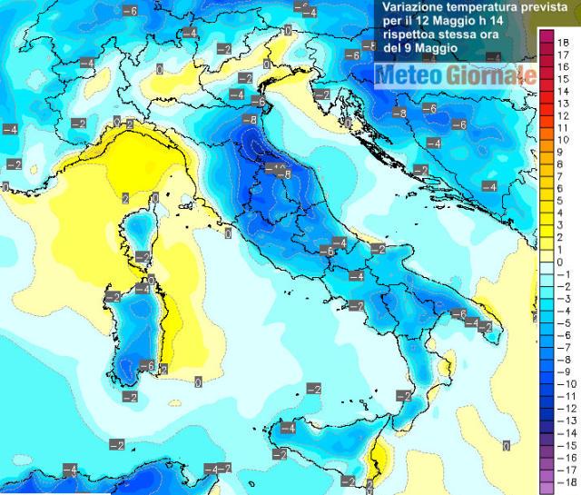 immagine 1 articolo meteo nuovo crollo temperature domenica aria polare