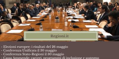 Regioni.it del 27 maggio