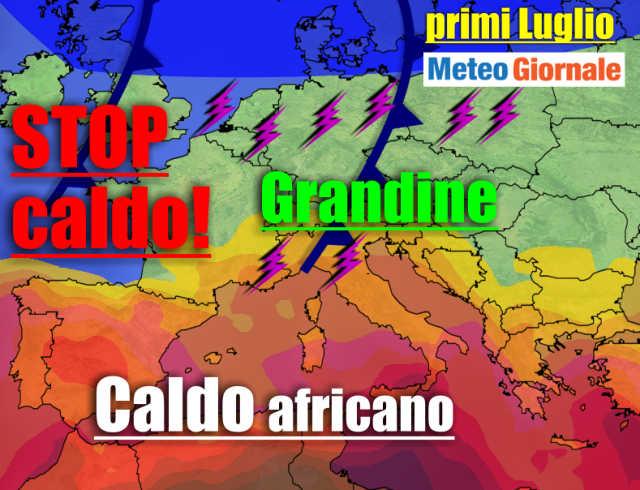 immagine 1 articolo meteo e caldo africano stop
