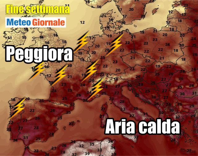 immagine 3 articolo meteo europa caldo notevole