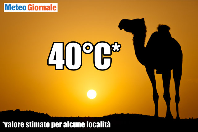 immagine 1 articolo novita meteo ecco anticiclone africano i 40 gradi