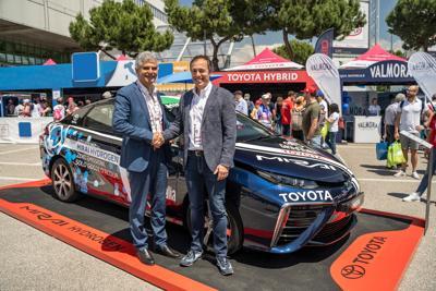 Toyota ed Eni accelerano sulla mobilità a idrogeno