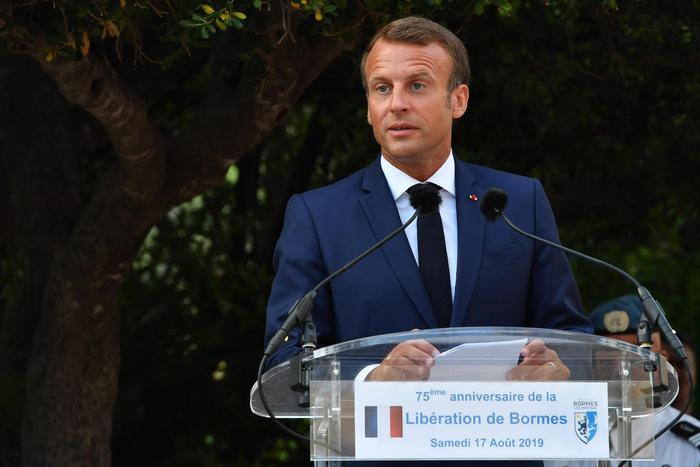 Governo: Macron, a fianco di Mattarella - Europa