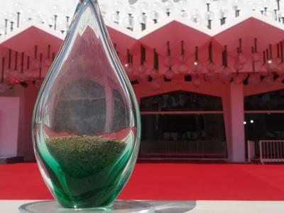 La Mostra del Cinema di Venezia si colora di verde con il Green Drop Award