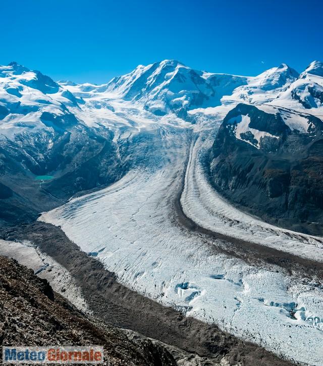 immagine 1 articolo meteo alpi e finita la stagione di perdita di ghiaccio