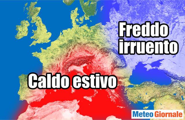 immagine 1 articolo meteo della prossima settimana ondata di calore ma poi freddo