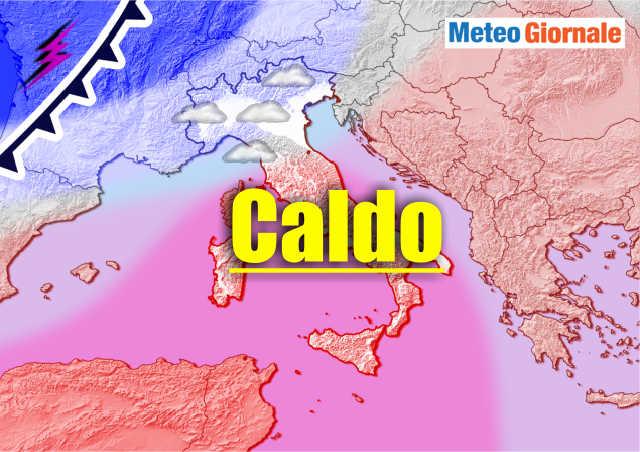 immagine 1 articolo meteo e iniziato un weekend caldo ma per il seguito previsioni pessime