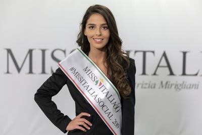 Miss Italia, Miriam Melluso reginetta Social 2019