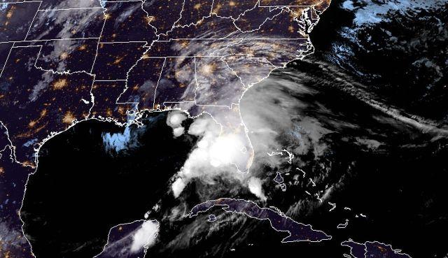 immagine 1 articolo tempesta tropicale nestor allerta meteo florida