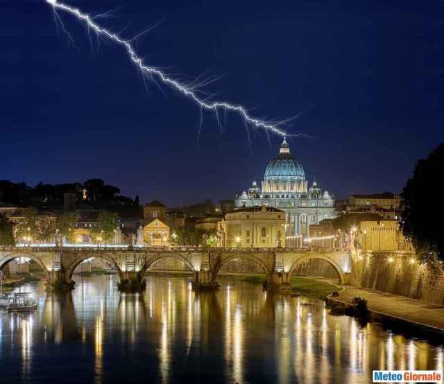 immagine 1 articolo meteo roma maltempo vento e temporali fino a tutto il weekend