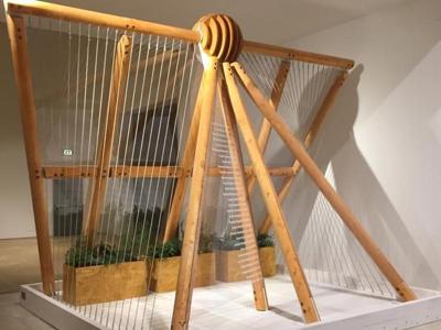 'La Serra dei Poeti' in legno riciclato è alla Triennale di Milano