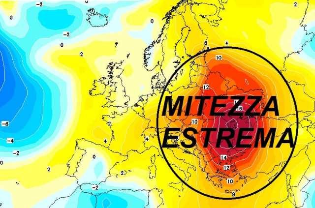 immagine 2 articolo evoluzione meteo inverno mite in europa conseguenze in italia