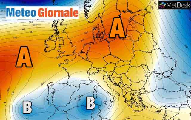immagine 1 articolo meteo inizio dicembre in balia di un vortice mediterraneo