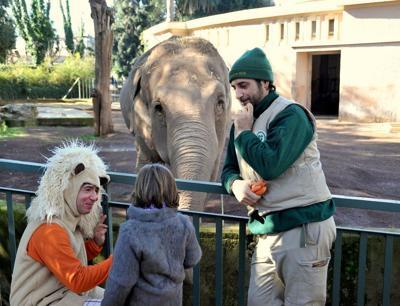Animali: anche la Bioparco di Roma festa di carnevale