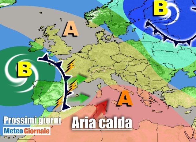 immagine 1 articolo meteo italia anticiclone ma weekend peggiora piogge
