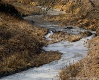 Little Muddy River in southeastern Nebraska