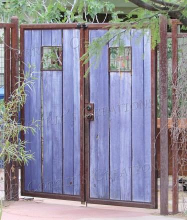One of many interesting gates in Tucson.