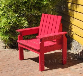 This colorful photo invites one to sit in the red chair and perhaps ponder a bit. Taken in Tucson