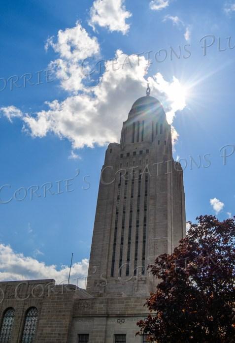 State Capitol building in Lincoln, Nebraska