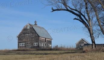 Rustic farm building in southeastern Nebraska