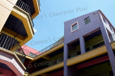 A colorful section in downtown Tucson