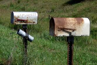 Double mailboxes. Southeastern Nebraska