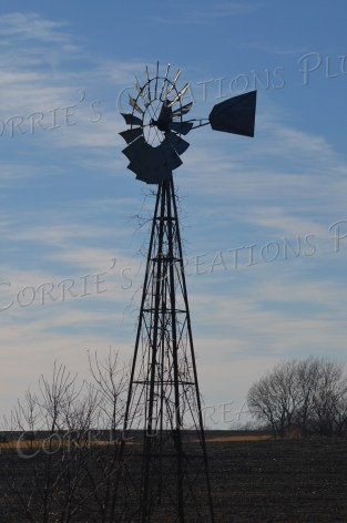 Windmill in southeastern Nebraska