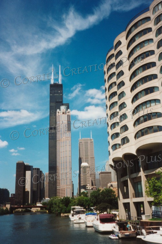 A view of Chicago's Willis Tower