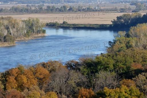 The mighty Missouri River; taken in southeastern Nebraska