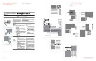 Graphic Design One: Pt. 1 Compositional Typography