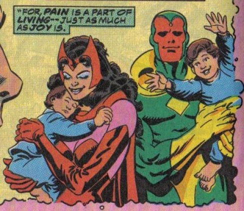 Image result for vision scarlet witch marriage