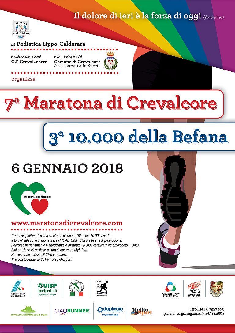 Maratona di Crevalcore e 100000 della befana
