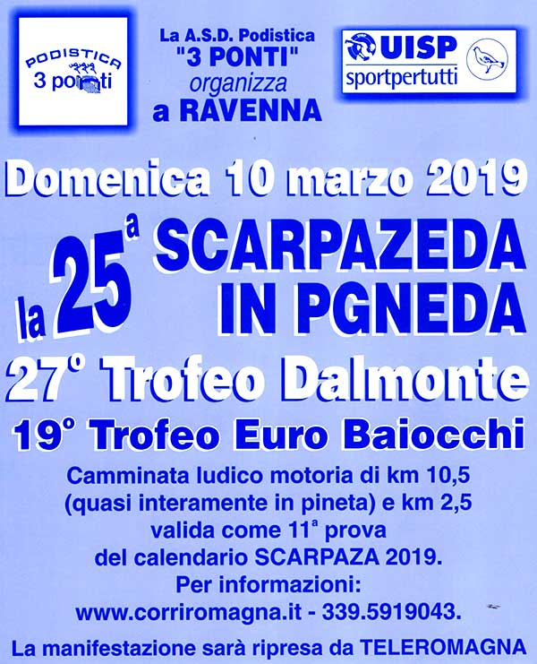 Scarpazeda in Pgneda 2019