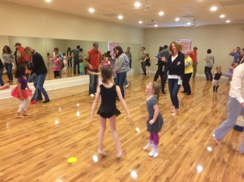 Family dance time during our mid-winter observation week!